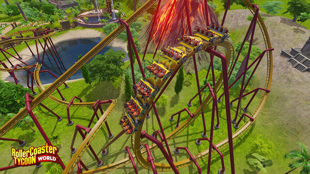 Roller Coaster Tycoon World Highly Compressed + Latest Version PC Game Free