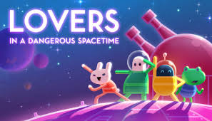 Lovers in A Dangerous Spacetime Crack
