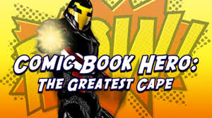 Comic Book Hero The Greatest Cape Crack